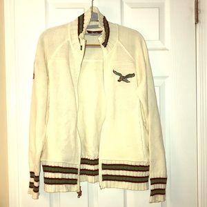 Sweaters - Philadelphia Eagles zip up cardigan sweater